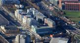Vue aérienne de la ZAC Claude Bernard